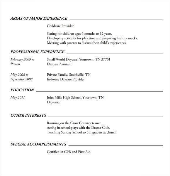 How To Make A Resume Without Experience [Template.billybullock.us ]