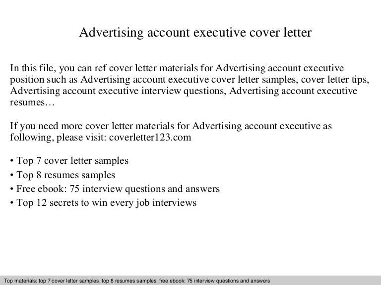 advertisingaccountexecutivecoverletter 140828211405 phpapp02 ...