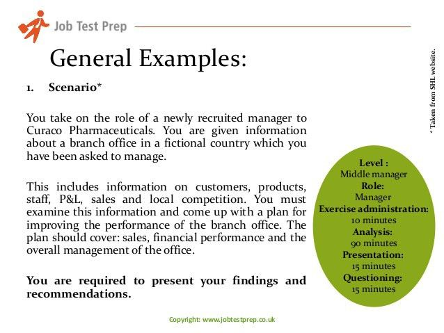 Assessment Centre Case Study - An Introduction by JobTestPrep