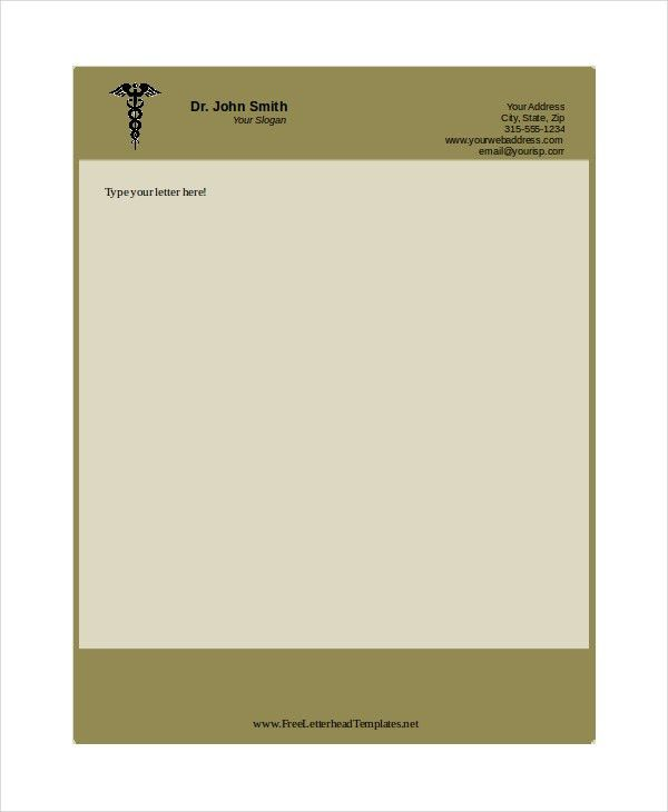 Free Letterhead Templates 7+ Free PDF, Word Document Download ...