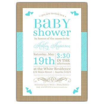 Baby Shower Invitation Examples - marialonghi.Com