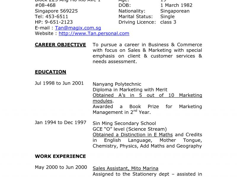 Unusual Ideas Resume Address Format 9 Layout Of Resume For Job ...