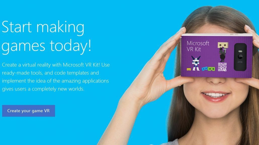 Microsoft VR Kit looks to compete with Google Cardboard   On MSFT