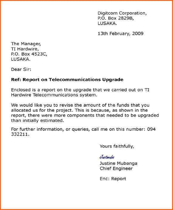 blocked style examples semi block business letters cover letter ...