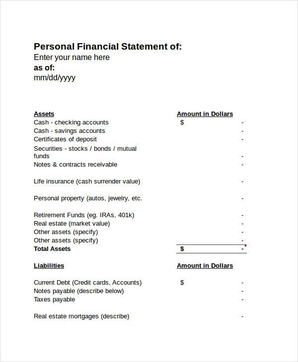 Income Statement - Free PDF, Excel, Word Documents Download | Free ...