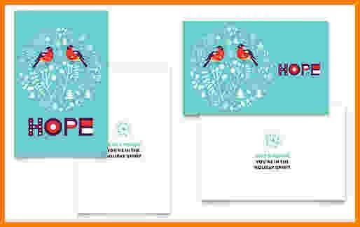 6+ greeting card template word | Card Authorization 2017
