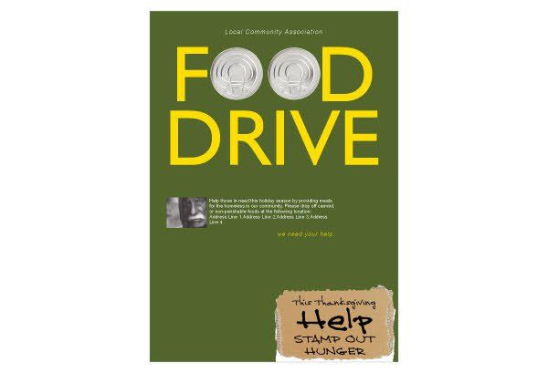 10 Best Images of Food Drive Posters Templates - Canned-Food Drive ...
