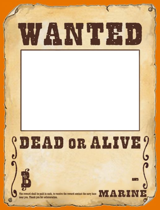 8+ make a wanted poster | Itinerary Template Sample