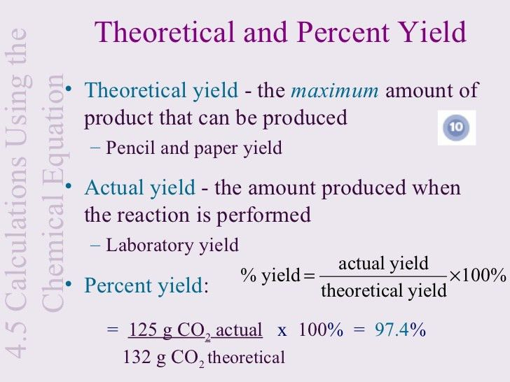 8 Tips for Crafting Your Best How to determine theoretical yield ...