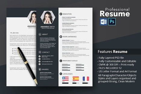 resume examples' in Best Resume Templates in 2015 ( .Docx . Psd ...