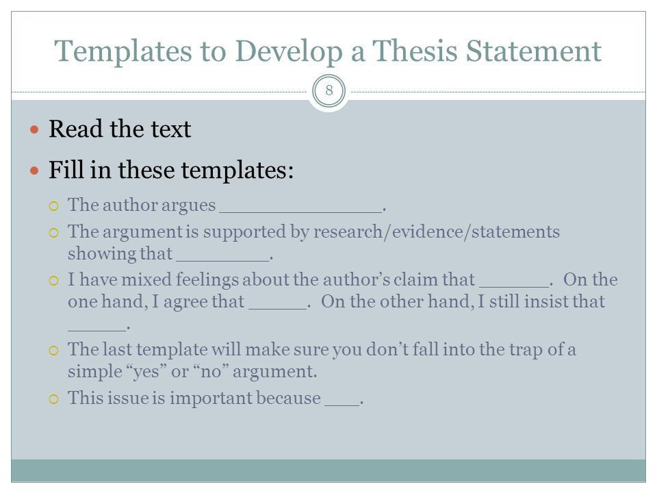 Responding to Texts in Academic Writing - ppt download