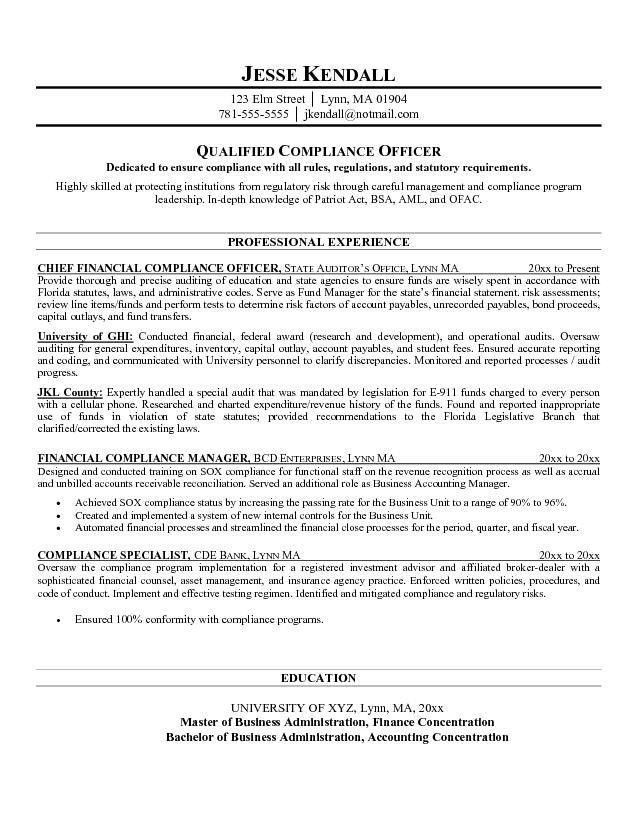 38 Printable Objective And Career Finance Manager Resume : Vntask.com