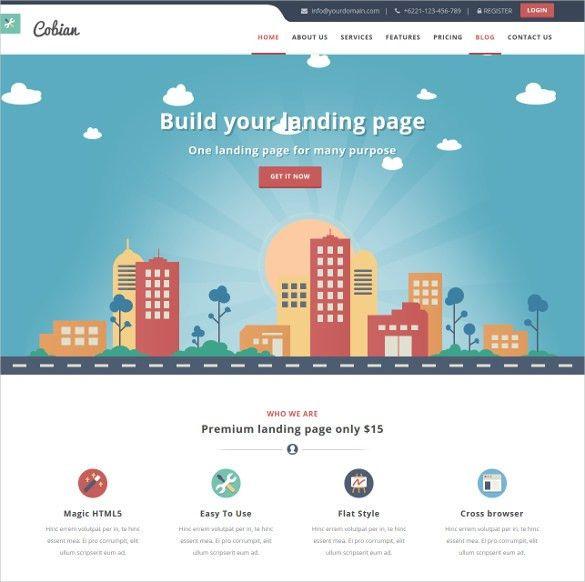21+ Marketing Bootstrap Themes & Templates | Free & Premium Templates