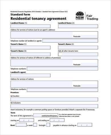 Home Rental Agreements. House Rental Agreement Sample Home Rental ...