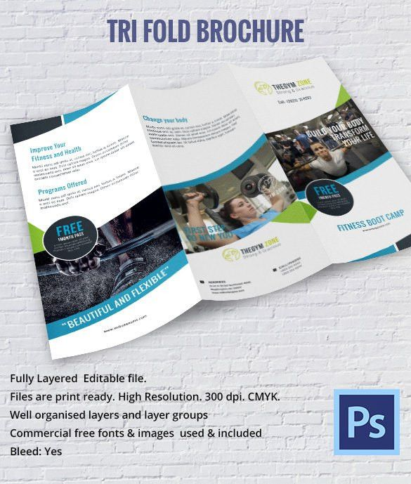 28+ Professional Brochure Templates – Free Word, PSD, PDF, EPS ...