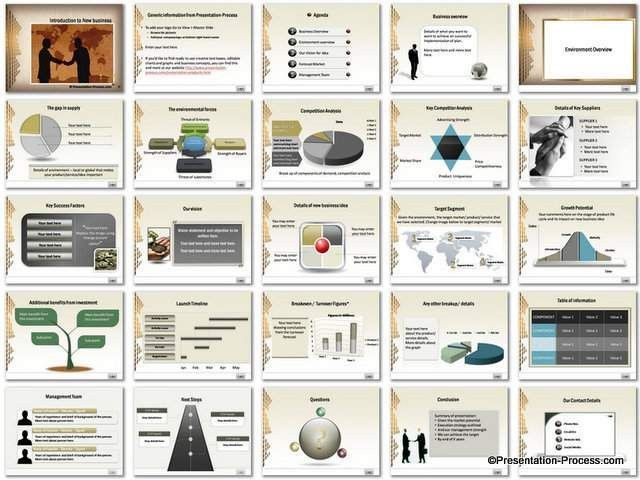 Introduction PowerPoint Template Set