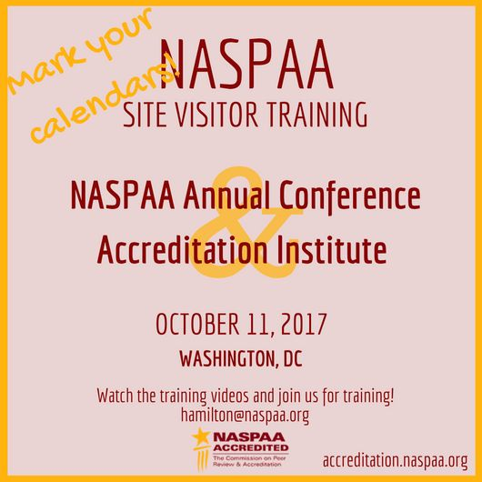 Preparing for a Site Visit | NASPAA Accreditation