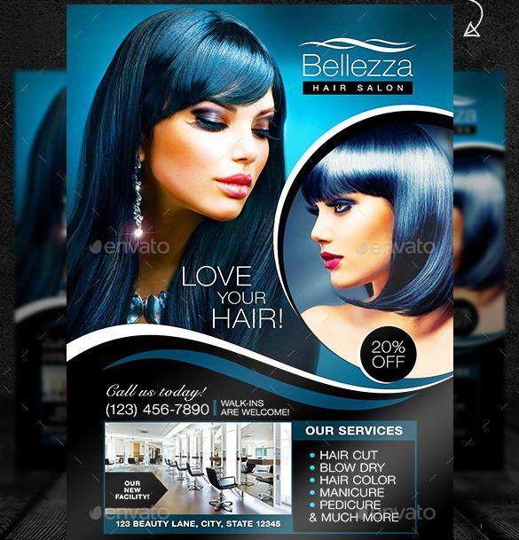 66+ Beauty Salon Flyer Templates - Free PSD, EPS, AI, Illustrator ...