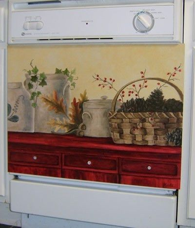 Country Crocks Custom Dishwasher Cover. Enjoy Home Appliances New.