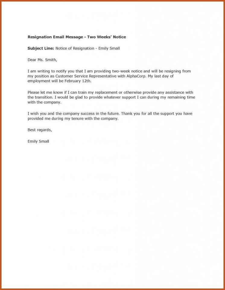 Resignation Letters Example. Resignation Letter Examples Formal ...