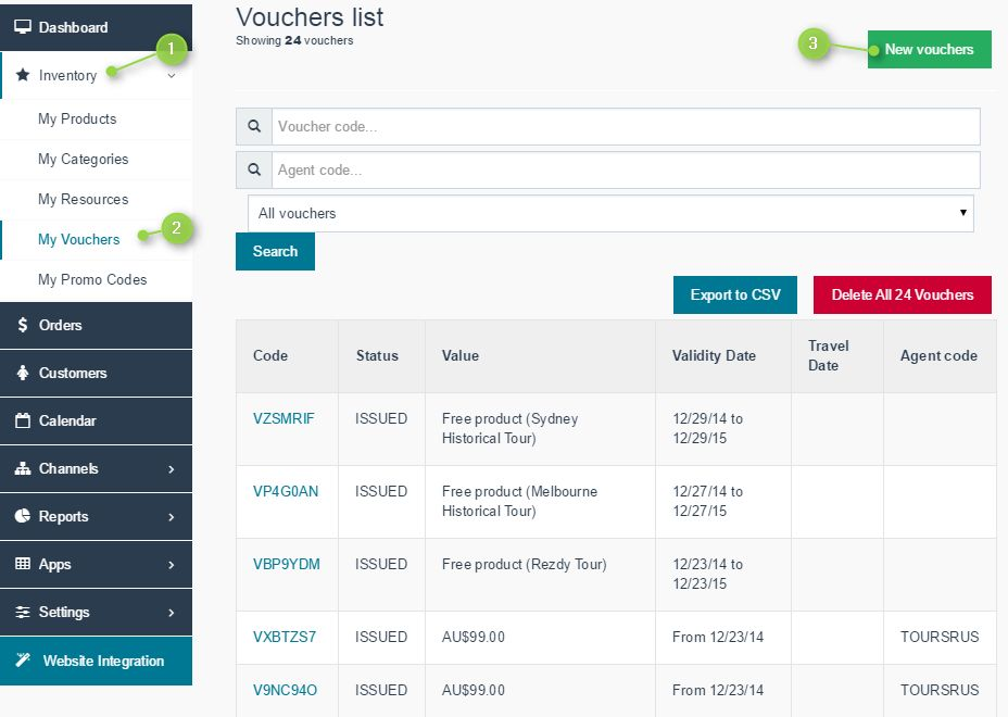 How to add daily deal voucher codes to Rezdy – Rezdy Help Center