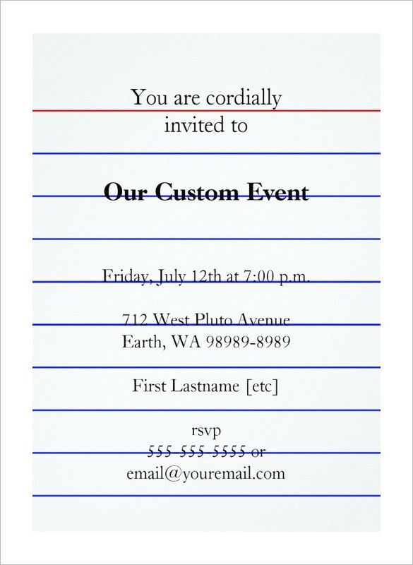 Event Card Template. Our Card Responsive Html Template Can Be ...