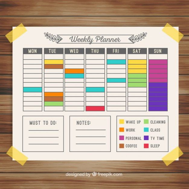 Schedule Agenda Vectors, Photos and PSD files | Free Download