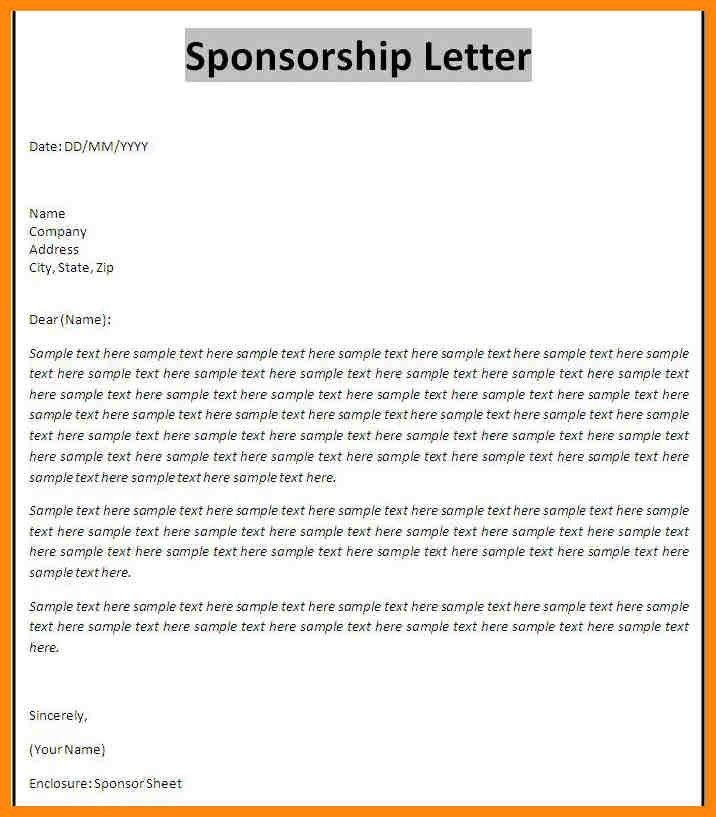 11+ sponsorship proposal templates | nurse resumed