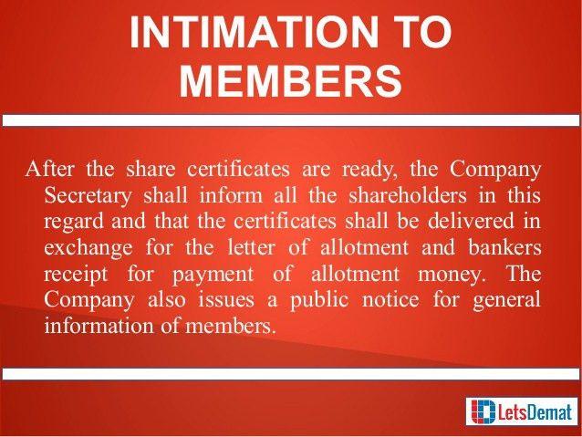 Issue Share Certificates in Mumbai Through professional