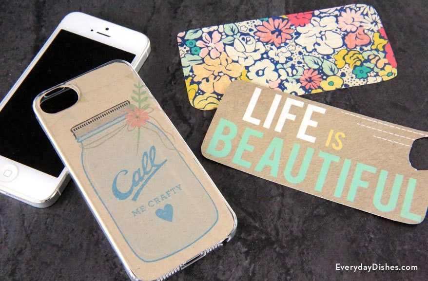 iPhone case template printable - Everyday Dishes & DIY