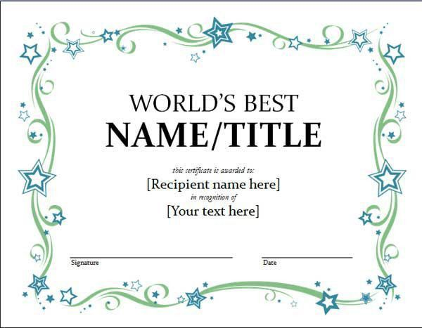 The 25+ best Free gift certificate template ideas on Pinterest ...