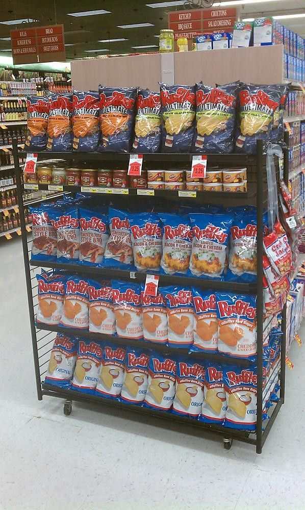Frito-Lay end-cap in grocery ... - PepsiCo Office Photo | Glassdoor