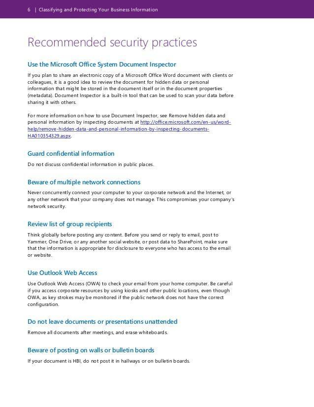 Personal Information Template - Contegri.com