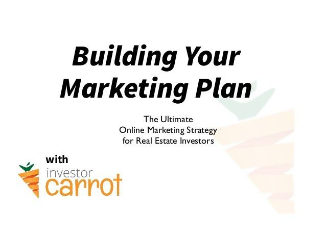 "Real Estate Marketing Plan: Sample ""Simple"" Strategic Template for Re…"