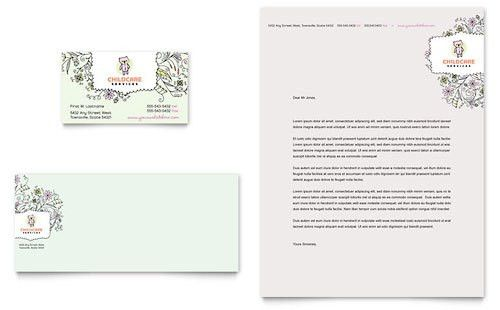 Babysitting & Daycare Flyer & Ad Template Design