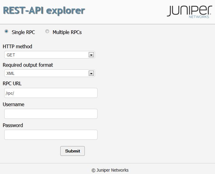 Example: Using the REST API Explorer - Technical Documentation ...