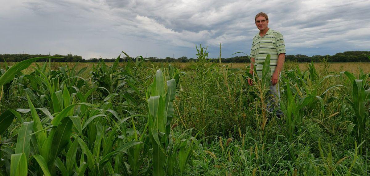 This Kansas farmer fought a government program to keep his farm ...