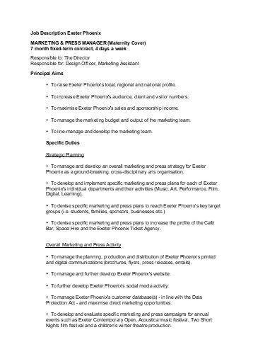 Purchasing Manager Job Description. Senior Contract Administrator ...