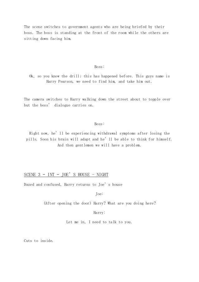 Film trailer script