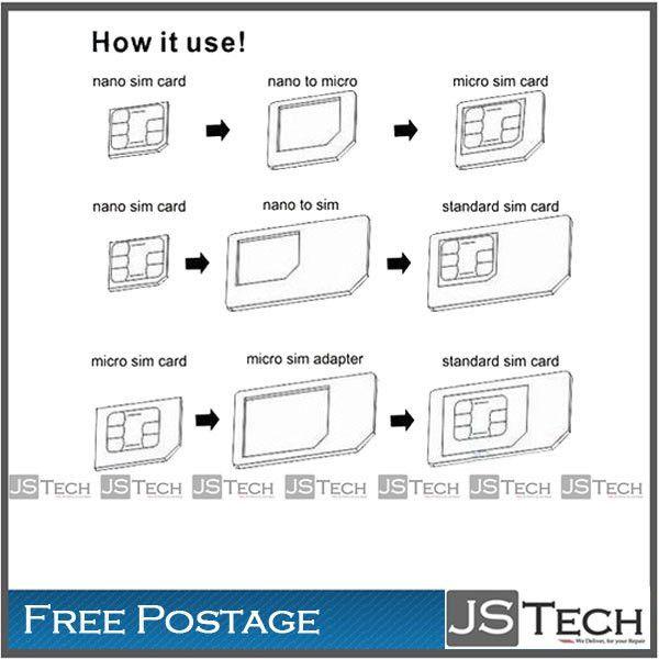 Custom Card Template » Template For Cutting Down Sim Card - Free ...