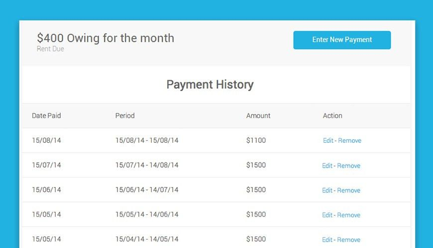 A New Tool to Help You Track Rent Payments