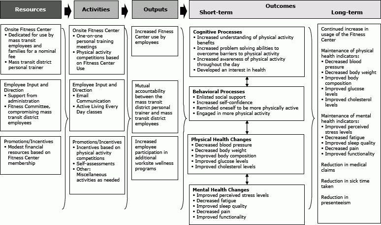 Preventing Chronic Disease | Development of a Logic Model for a ...