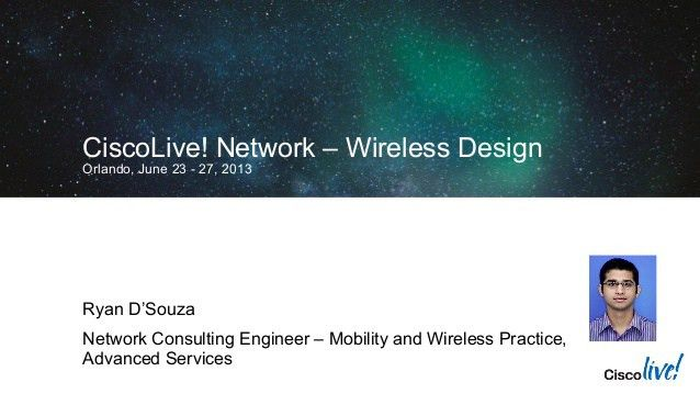 Creating the Network at Cisco Live Orlando: Technical Case Study Tech…