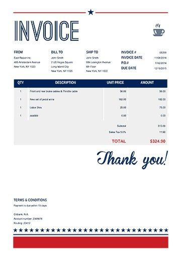 Make Invoice Online - Best Resume Collection
