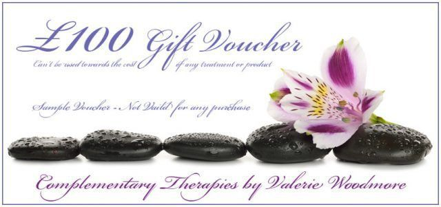 Monetary Gift Voucher - Complementary Therapies by Valerie Woodmore