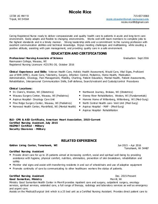 Nicole Straveler Resume.