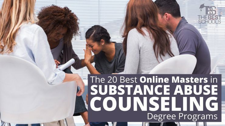 The 20 Best Online Masters in Substance Abuse Counseling Degree ...