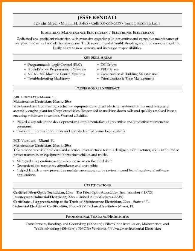 Maintenance Resume Template. Click Here To Download This ...