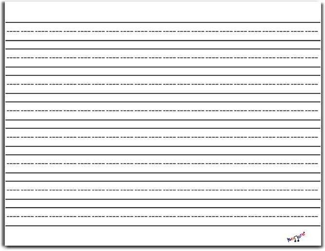 Printing On Lined Paper, sample college ruled paper template - 9+ ...