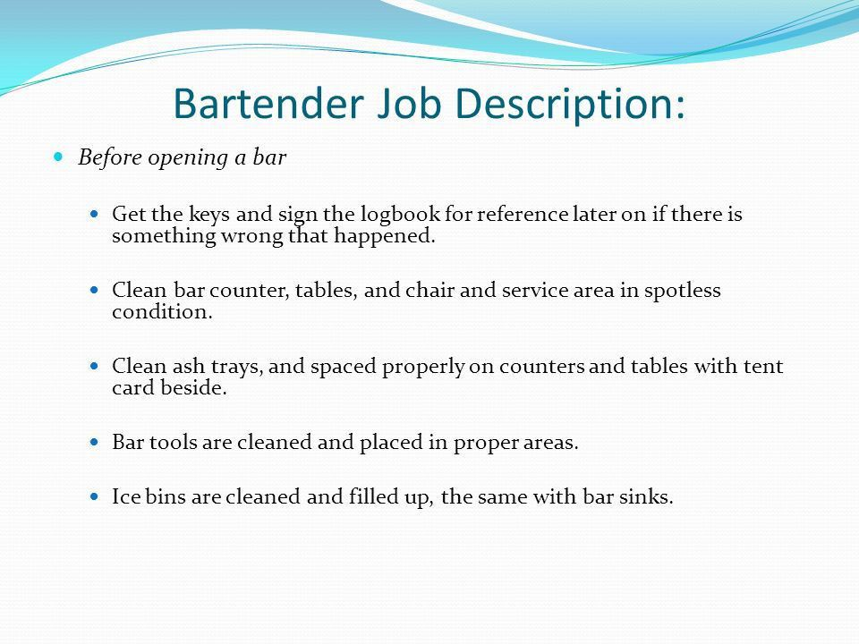 Chapter 2 Bar Organization - ppt video online download